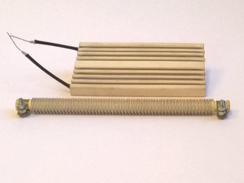 Résistances chauffantes à feu vif - SCIENTAX // High-temperature heating elements - SCIENTAX