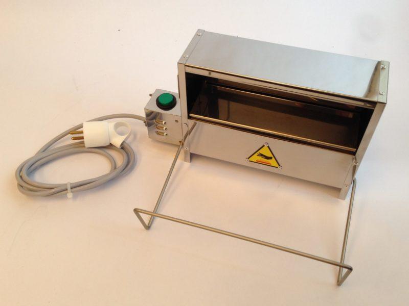 Fourneau à dorer - SCIENTAX // Book gilding oven - SCIENTAX