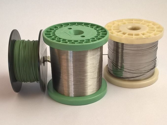 Fils et rubans nickel Chrome 80/20 – SCIENTAX // Nickel Chrome 80/20 wires and tapes - SCIENTAX