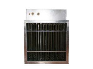 Batterie rectangulaire avec cadre et avec éléments chauffants tubulaires blindés – SCIENTAX