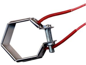 Collier chauffant mica blindé – SCIENTAX // Hexagonal armoured mica heating collar- SCIENTAX