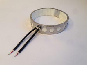 collier chauffant céramique blindé pour utilisation sous carter ventilé – SCIENTAX // armoured ceramic heating band for use in ventilated housing - SCIENTAX
