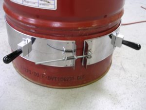 Collier de fût mica blindé – SCIENTAX // Armoured mica collar for barrel heating - SCIENTAX