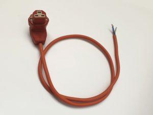 Connecteur femelle coudé sous silicone (haute température) – SCIENTAX