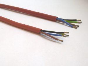 Câble sous silicone (haute température) - SCIENTAX