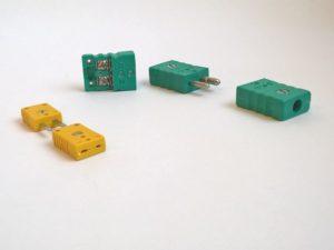 Connecteur à broches compensées pour thermocouple J, K, N…,