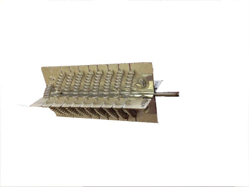 Résistance chauffante sur croisillons en mica (chauffage d'air pulsé) - SCIENTAX // Heating element on mica crossbars (convection heating) - SCIENTAX