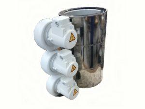 Collier chauffant céramique blindé sous carter ventilé – SCIENTAX // Shielded ceramic heating band under ventilated housing - SCIENTAX