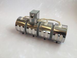 Ensemble de collier chauffant céramique blindé pour utilisation sous carter ventilé – SCIENTAX // Shielded ceramic heating band set for use under ventilated housing - SCIENTAX