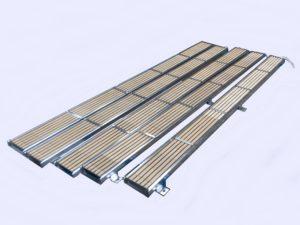 Résistances chauffantes plates à feu vif - SCIENTAX // Flat radiant heaters (radiant heating) - SCIENTAX