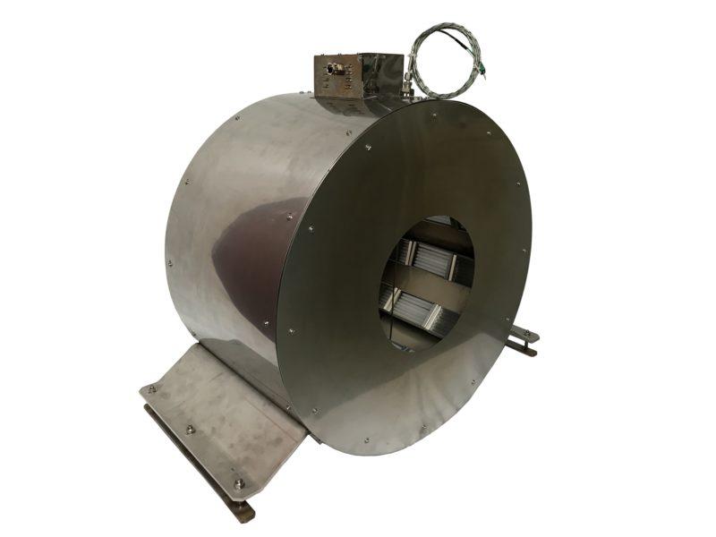Four infrarouge avec des résistances sous tube quartz - SCIENTAX / Infrared furnace with heater under quartz tube - SCIENTAX