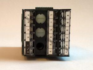 Régulateurs électroniques de température (bornier).