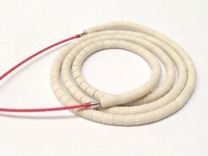 Résistances chauffantes sous perles en céramique – SCIENTAX // Heating elements under ceramic beads - SCIENTAX