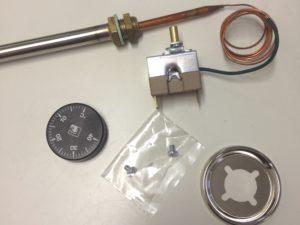 Thermostat à bulbe et capillaire sous doigt de gant - SCIENTAX