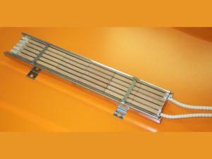 Résistances chauffantes plates à feu vif pour chauffage par rayonnement- SCIENTAX // Flat radiant heaters (radiant heating) - SCIENTAX