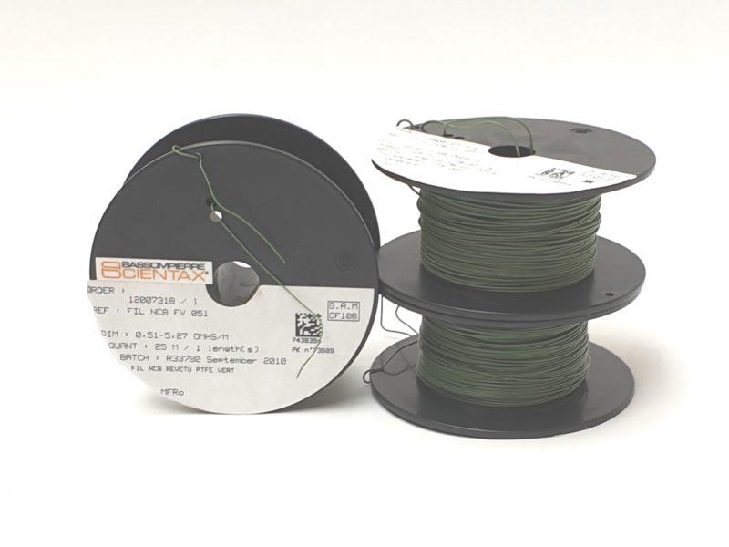 Fils chauffants téflonés – SCIENTAX // Teflon coated heating wires - SCIENTAX