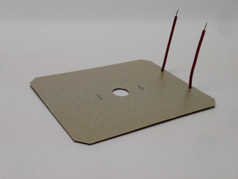 Résistances chauffantes plate mica rectangulaire- SCIENTAX // Flat mica rectangular heating elements - SCIENTAX