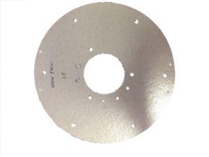 Résistances chauffantes plate mica circulaire - SCIENTAX // Circular mica flat heating elements - SCIENTAX