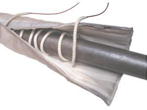 Résistances chauffantes sous perles en céramique SCIENTAX / Heating resistors under SCIENTAX ceramic beads