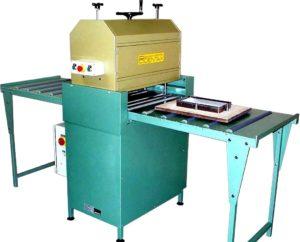 Découpeuse à rouleaux semi-automatique 700 x 500 - SCIENTAX // Semi-automatic roller cutting machine 700 x 500 - SCIENTAX