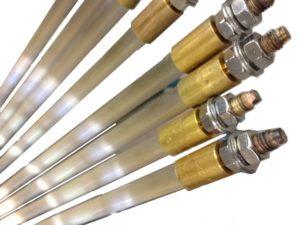 Résistances chauffantes infrarouges sous tube en quartz. // Infrared heating elements under quartz tube - SCIENTAX