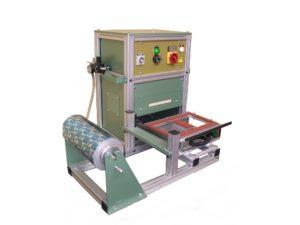 Thermoscelleuse semi-automatique avec dévidoir- SCIENTAX // Semi-automatic thermosealing machine - SCIENTAX
