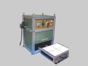 Thermoscelleuse semi-automatique - SCIENTAX // Semi-automatic thermosealing machine - SCIENTAX