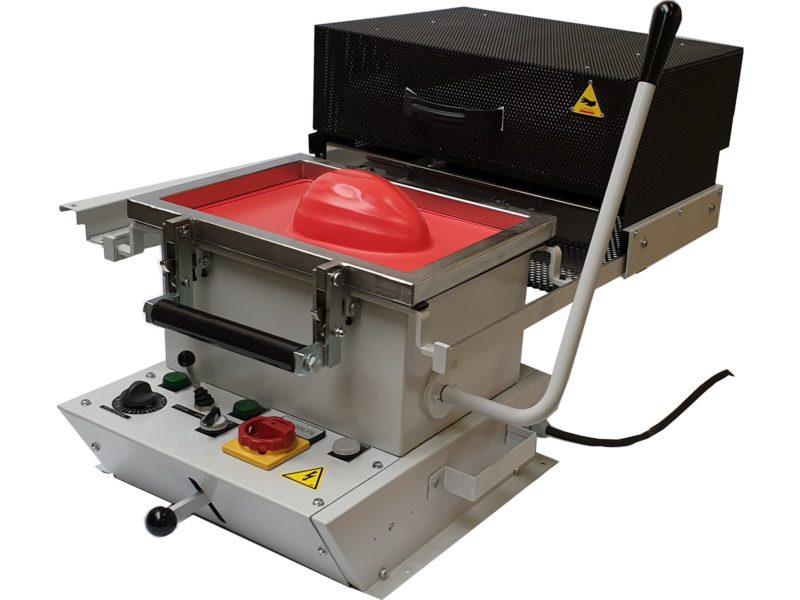 Thermoformeuse 350 x 250 – SCIENTAX // Skin-Pack réalisé sur Thermoformeuse 350 x 250 – SCIENTAX // Thermoforming machine 350 x 250 - SCIENTAX