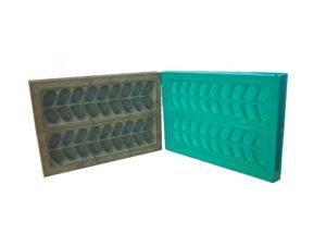 Moules utilisés pour la réalisation de pièces sur les machines de thermoformage SCIENTAX // Moulds used to make parts on SCIENTAX thermoforming machines