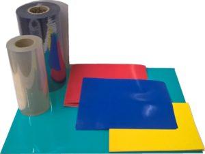 Matière plastique pour la réalisation de pièces sur les machines de thermoformage SCIENTAX // Plastic material for the production of parts on SCIENTAX thermoforming machines
