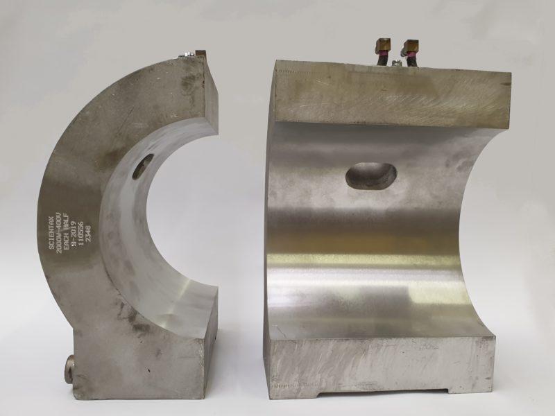 Résistance blindée surmoulée aluminium avec circuit de refroidissement - SCIENTAX