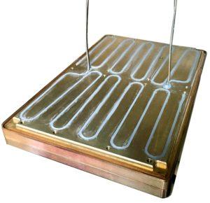 Résistance chauffante blindée formable à froid noyée dans outillage client